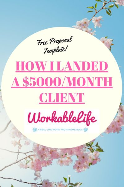 How I Landed A $5,000/Month Client